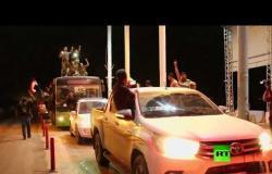 لحظة دخول الجيش السوري مدينة كوباني