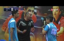 المنتخب البولندي السعودي المشترك لتنس الطاولة يفوز على منتخب مصر في الشوط الثالث