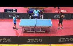 مباراة مصر ولبنان (0-3) - بطولة مصرالدولية لتنس الطاولة