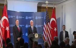 بالفيديو: الولايات المتحدة تعلن التوصل إلى اتفاق مع تركيا حول وقف لإطلاق النار شمال شرق سوريا