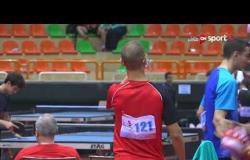 مباراة جواد الحرازي و يوسف إيهاب (3-0) - بطولة مصرالدولية لتنس الطاولة