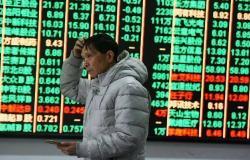 انخفاض الأسهم الصينية بأكبر وتيرة بشهر بعد بيانات النمو الاقتصادي
