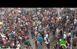لبنان .. مظاهرات في قضاء كسروان
