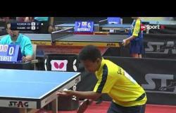 مباراة محمد سامح Vs محمد السويلم (3-0) - بطولة مصرالدولية لتنس الطاولة