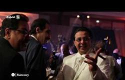 مجدي الجلاد وخيري رمضان في حفل زفاف كريمة الدكتور محمد قورة