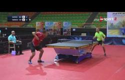 مباراة  مروان عبد الوهاب Vs جواد الحرازي (3-1) - بطولة مصر الدولية لتنس الطاولة