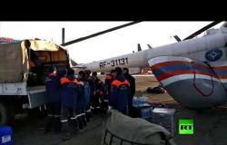 انهيار سد بإقليم كراسنويارسك في روسيا