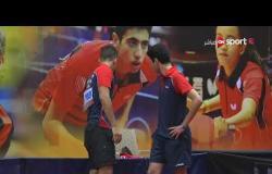 مباراة الزوجي مروان و احمد Vs محمد ويوسف (2-1) - بطولة مصر الدولية لتنس الطاولة