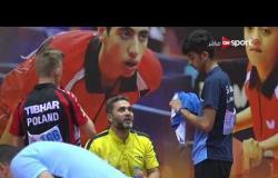 مباراة الزوجي  خالد و ميلوس Vs مكسيم و نزار (2-3) - بطولة مصر الدولية لتنس الطاولة