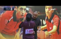 """مباراة مصر """"رزان"""" VS تايوان (0-4) - بطولة مصرالدولية لتنس الطاولة"""