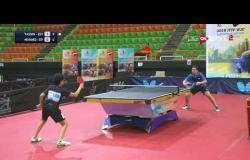 مباراة ياسين وائل Vs محمد السيسي (3-0) - بطولة مصر الدولية لتنس الطاولة  دور الـ 16