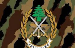 الجيش اللبناني يؤكد تضامنه مع مطالب المتظاهرين