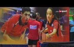 """مباراة  """"مصر""""  أحمد Vs """"السعودية"""" خالد (1-3) - بطولة مصر الدولية لتنس الطاولة"""