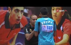 مباراة نهائي الناشئين تحت 15 سنة - عمرو محفوظ من مصر ضد خالد الشريف من السعودية