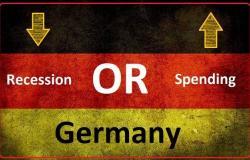 ألمانيا تواجه خيارين: زيادة الإنفاق أو ركود الاقتصاد