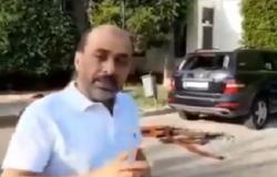 بالفيديو : تحطيم مركبة أردني في لبنان وسرقة أوراقه الثبوتية