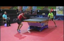 مروان عبد الوهاب يتحدث عن أبرز الصعوبات التى مر بها خلال بطولة مصر الدولية لتنس الطاولة