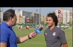 لقاءات مع بعض لاعبي والجهاز الفني لمنتخب مصر للشباب