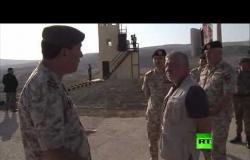 العاهل الأردني الملك عبد الله الثاني يصل منطقة الباقورة ويلتقي جنود الجيش الأردني