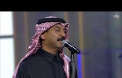 """أخطبوط العود عبادي الجوهر يغني """"كفاك غرور"""" في #ليلة_بدر_بن_عبدالمحسن"""