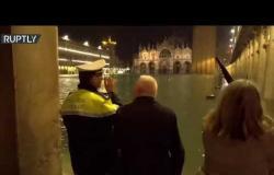 ايطاليا.. البندقية تغرق بفيضان هو الأكبر منذ 50 عاما