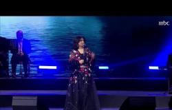 """نوال تغني """"سرى ليلي"""" في #ليلة_بدر_بن_عبدالمحسن"""
