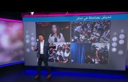 قبلات لمراسلات لبنانيات على الهواء تثير جدلا واسعا