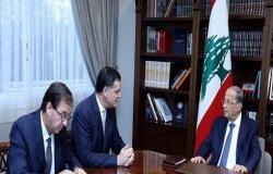 """موفد فرنسي في لبنان.. وباسيل يرفض """"أي تدخل خارجي"""""""