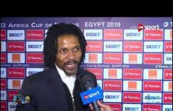 لقاءات ما بعد مباراة المنتخب الأولمبي والكاميرون