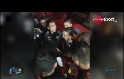كلمات رمضان صبحي  للاعبي المنتخب الأولمبي قبل مباراة الكاميرون وتعليق أحمد شوبير وحمادة صدقي