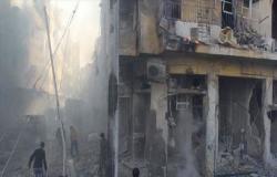 نزوح 37 ألف شخص من إدلب جراء هجمات النظام السوري وروسيا