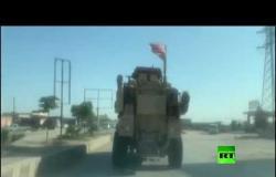 قافلة للجيش الأمريكي تدخل القامشلي وتتجه شرقا للقيام بدورية