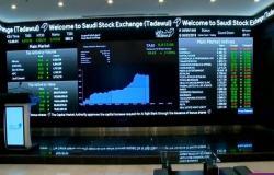 1.5 مليار دولار زيادة بملكية الأجانب بالسوق السعودي الأسبوع الماضي