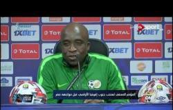 المؤتمر الصحفي لمنتخب جنوب إفريقيا الأولمبي قبل مواجهة منتخب مصر الأولمبي