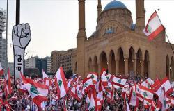 """شاهد.. """"قيامة أرطغرل"""" حاضرة في مظاهرات لبنان"""