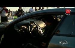 #الحكاية من #موسم_الرياض .. أول سيارة تم بيعها بمعرض الرياض للسيارات للنجم البرازيلي رونالدينهو