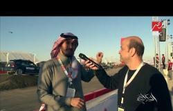 #الحكاية من #معرض_الرياض_للسيارات ..  عمرو أديب في قلب حلبة الألعاب الخطرة
