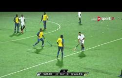 مباراة الهوكي بين سموحة وجي- أر- أيه بطل غانا في بطولة إفريقيا للأندية أبطال الدوري