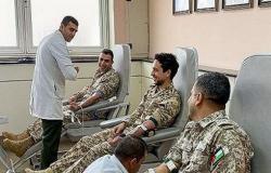 صور : ولي العهد يتبرع بالدم