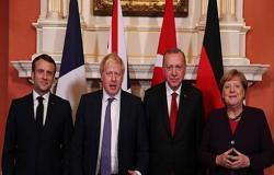 القمة الرباعية بلندن تؤكد على ضرورة وقف الهجمات بسوريا