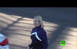 إيفانكا ترامب تظهر مهاراتها في سباق السيارات