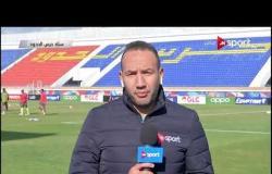 أجواء وكواليس ما قبل مباراة حرس الحدود وبتروجيت فى دور الـ 32 لكأس مصر