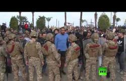 فيديو.. مواجهات عنيفة بين الجيش والمتظاهرين في لبنان