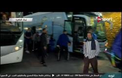 لحظة وصول بيراميدز والزمالك لستاد القاهرة قبل المواجهة