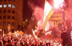 بالفيديو : إحراق خيمة اعتصام وسط بيروت بدعوى الترويج للتطبيع