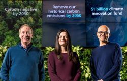 مايكروسوفت تعلن عن خطوة طموحة لحماية المناخ