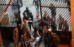 بالفيديو : عمليات كر وفر غرب بيروت.. واعتقالات في صفوف المحتجين
