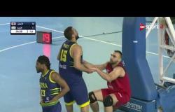 مباراة الأهلي والجزيرة في الجولة العاشرة  بدوري السوبر لكرة السلة