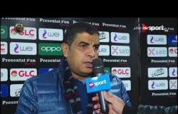رأي خالد مهدي. مدير الكرة في الإنتاج الحربي في عامر عامر