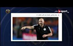 جمال بلماضي: منتخب الجزائر سيلعب على التتويج بكأس العالم 2022